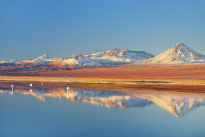 Lake in the Atacama Desert