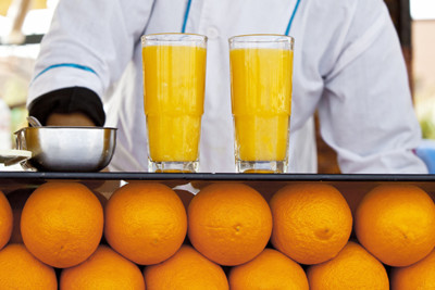 Orange Juice in Marrakech