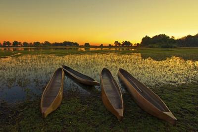 Botswana Canoeing