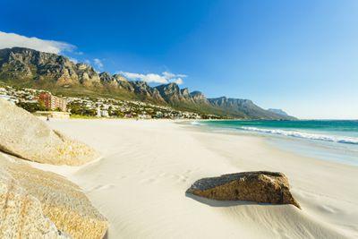 Beach in Cape Town