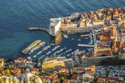Dubrovnik aerial