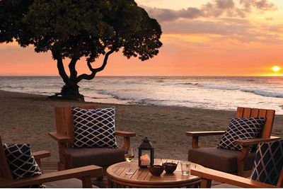 Four Seasons Hualalai hotel in Hawaii