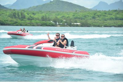 Seakarting in Mauritius
