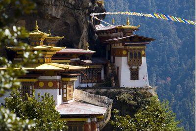 Monastery in Butan