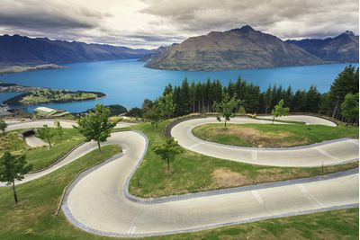 Queenstown luge, New Zealand