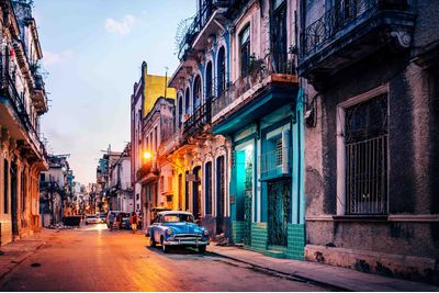Colourful street in Havana, Cuba