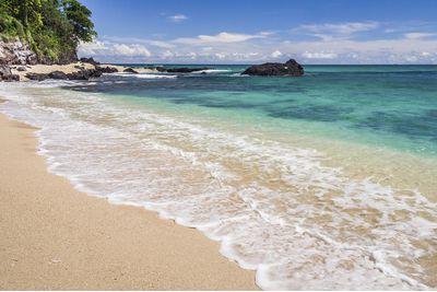 Beach scene, Nosy Be Madagascar