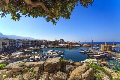 Sailing marina in Kyrenia, Cyprus