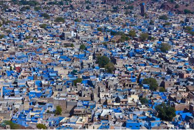 An aerial view of Jodhpur, India