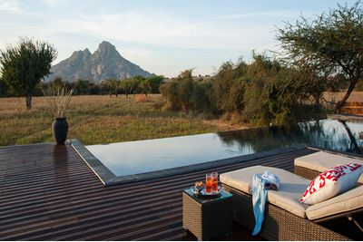 Swimming Pool at Jawai Leopard Camp, India