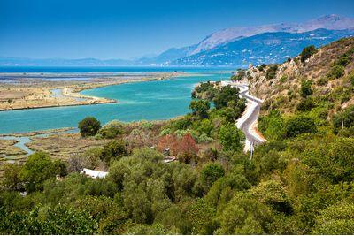 Albanian coastline