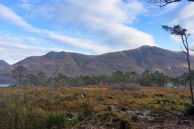 The view from a hike near The Torridon hotel