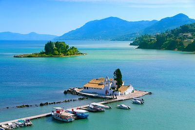 Corfu's coastline