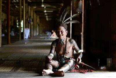 iban tribe man
