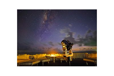 soneva jani stargazing