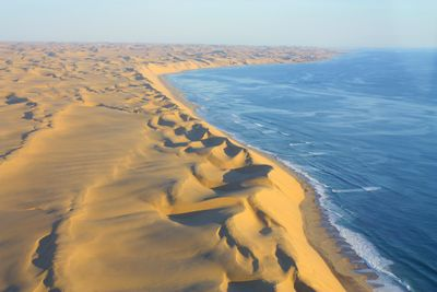 skeleton coast from the air