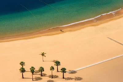 a beach in tenerife