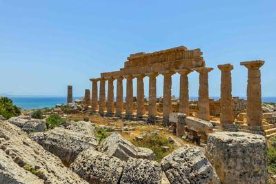 greek ruins in Siciliy