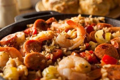 jambalaya creole food