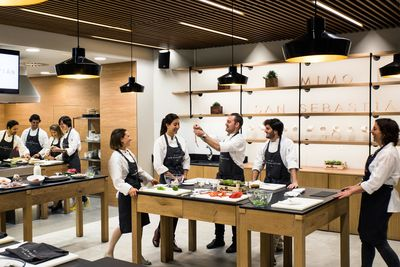 cooking school in San Sebastian