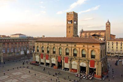 A view of piazza maggiore