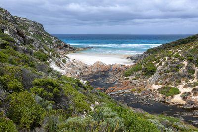 a bay on Kangaroo Island