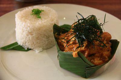 Fish amok curry