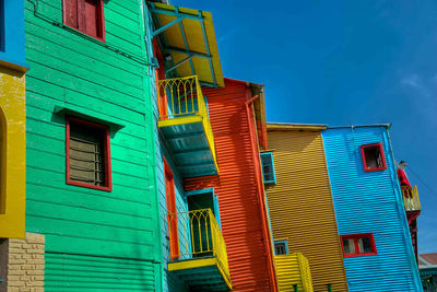 colourful la boca houses