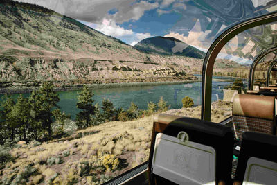 rocky mountaineer view
