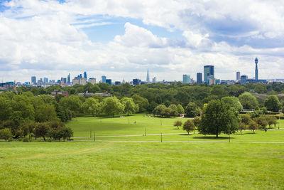 Primrose Hill view, Regent's Park