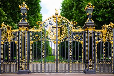 Canada Gate, Green Park