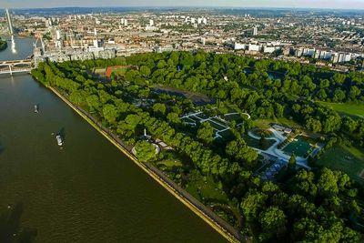 Battersea Park Aerial