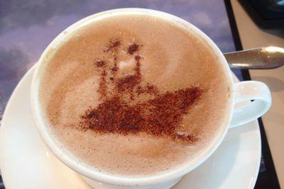 Royal Yacht Britannia coffee