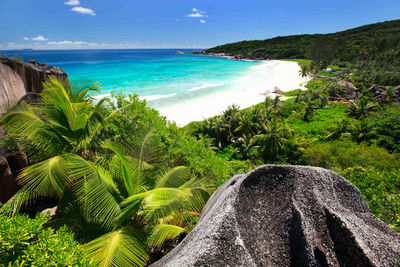 grand anse la digue the seychelles