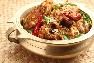 India Kerala curry fish