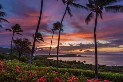 lanai island sunset