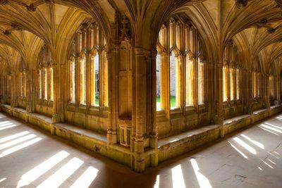 Lacock Abbey cloister