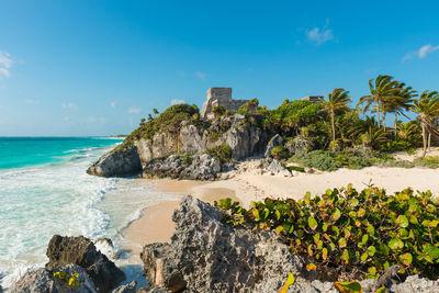 tulum coastal ruins