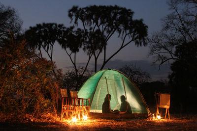 fly camping ruaha tanzania