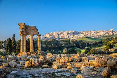 sicily ancient ruins