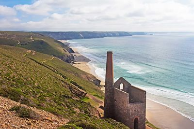 Cornish clifftop mine