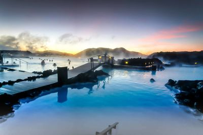 blue lagoon evening