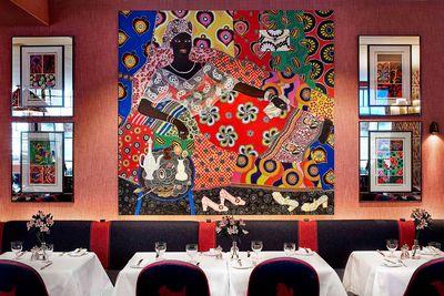 Haymarket Hotel art