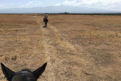 Riding in Laikipia