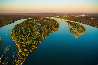 zambia scenery lower zambezi