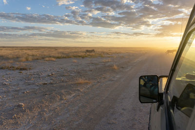 road from etosha to victoria falls