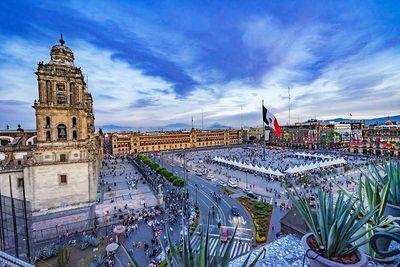 mexico city zocalo square