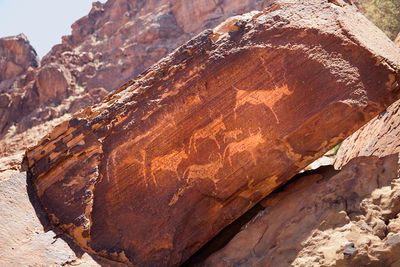 Rock Art Namibia Walking Safari