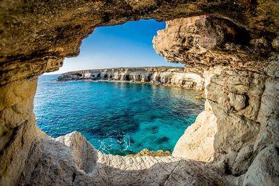 Cyprus beach view