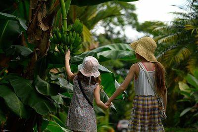 Costa Rica Rainforest Children